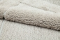 Preview: Casalanas - Santorin, double-sided, solid bathmat, beige, different sizes