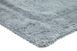 Preview: Casalanas - Santorin, double-sided, solid bathmat, lightgrey, different sizes