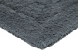 Preview: Casalanas - Santorin, double-sided, solid bathmat, smoke, different sizes