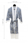 Preview: Casalanas kimono coat, Aoiro, 107x62 cm, blue-white, 100% cotton, item no. 3153