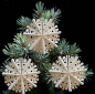 Preview: Casalanas window decoration, snowflake Crystal, Ø 30 cm, white, item no. 3399