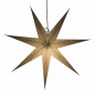 Preview: Casalanas illuminable window decoration, star Silver Elektra, Ø 80 cm, silver, item no. 3450