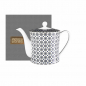 Preview: Images d'Orient teapot and gift box, Kaokab, 1.2 ltr., blue black white, item no. POR343121
