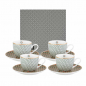 Preview: Images d'Orient espresso set with 4 mugs, saucers and gift box, Opera, 90 ml, colourful, item no. POR920074