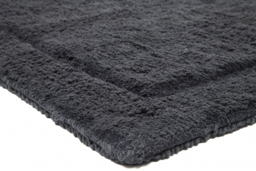 Casalanas - Santorin, double-sided, solid bathmat, dark grey, different sizes
