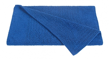 Casalanas Fontechiari, double-sided solid bathmat, darkblue, different sizes