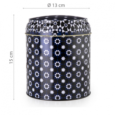 Images d'Orient mug with gift box, Kaokab, 250 ml, blue black white, item no. POR232031