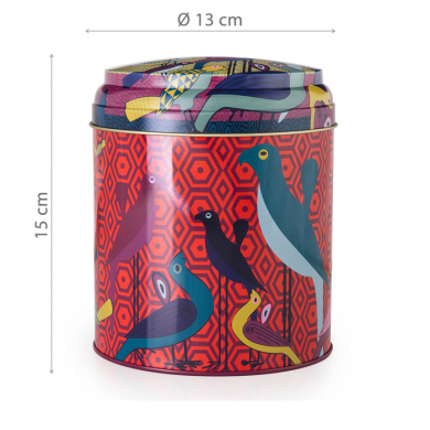 Images d'Orient mug with gift box, Birds of Paradise, 250 ml, colourful, item no. POR232051