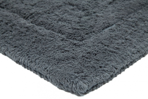Casalanas - Santorin, double-sided, solid bathmat, smoke, different sizes