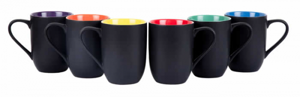 Casalanas 6 Tassen Set, Rainbow, 290 ml, bunt, Art.-Nr. 8238