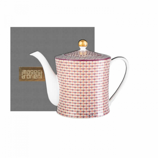Images d'Orient teapot and gift box, Opera, 1.2 ltr., colourful, item no. POR353121
