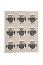 Casalanas Baby Blanket, 100% Cotton, 100 x 80 cm, Owl Design